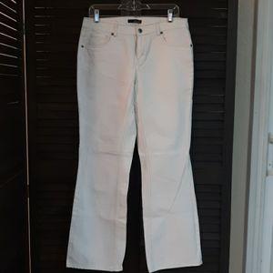 WILLI SMITH White Denim Pants Size 6